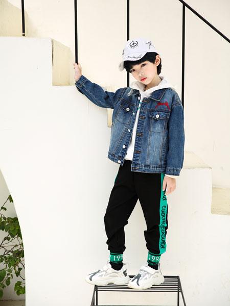 可趣可奇童装品牌2020春夏休闲牛仔夹克