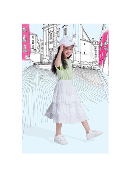 铅笔俱乐部童装品牌2020春夏网纱仙女裙
