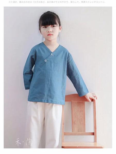 禾陶成衣童装品牌2020春夏棉麻舒适衬衣
