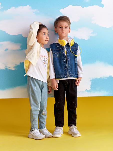 小鲨诺拉童装品牌2020春夏休闲棒球服