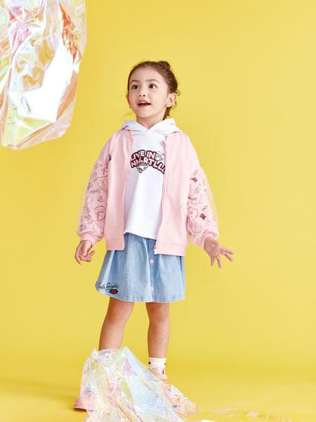 小鲨诺拉童装品牌2020春夏休闲夹克衫
