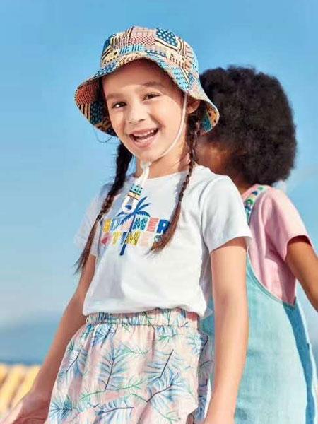 以纯童装品牌2020春夏纯棉印花短袖