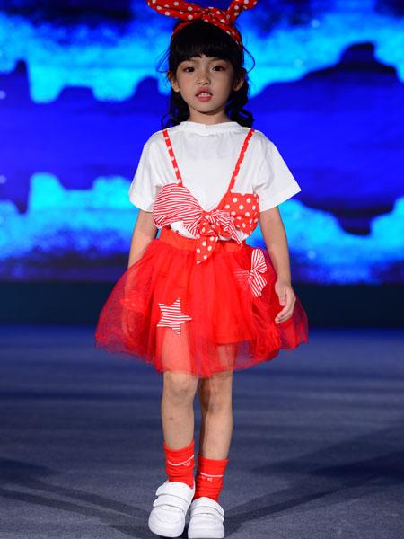 西萌叮童装品牌2020春夏女童可爱背带裙