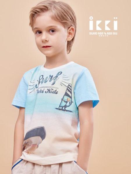 IKKI安娜与艾伦童装品牌2020春夏卡通衬衫