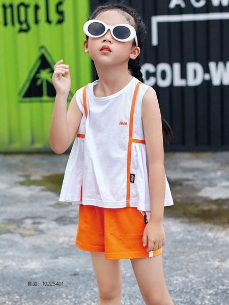 JOJO童装品牌2020春夏时尚纯棉短袖背心