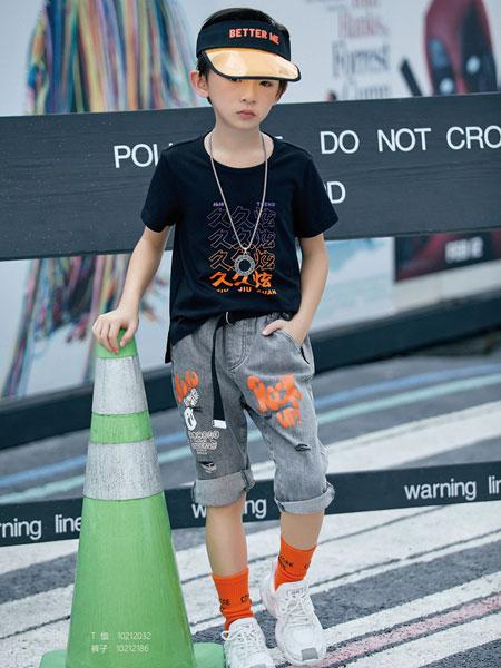 JOJO童装品牌2020春夏街头潮流短袖