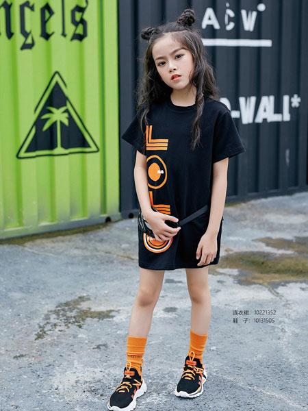 JOJO童装品牌2020春夏印花T恤套装