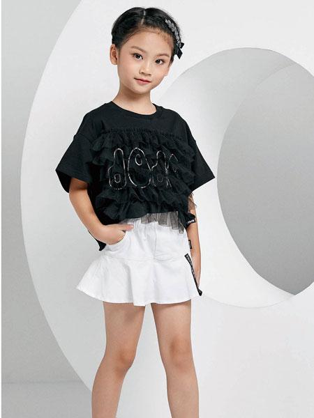 JOJO童装品牌2020春夏纯棉T恤短袖