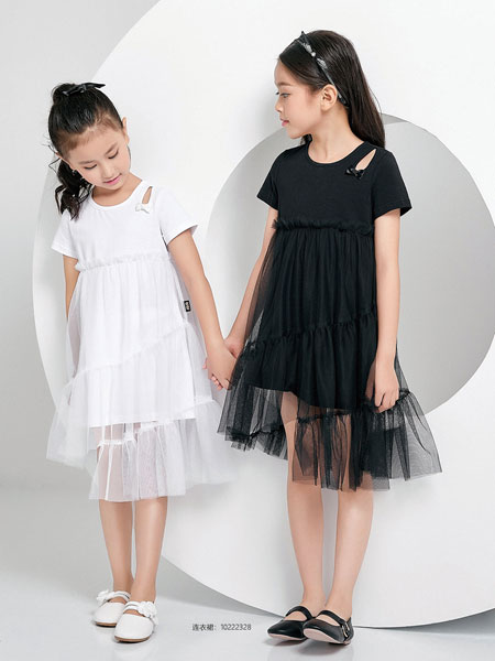 JOJO童装品牌2020春夏休闲时尚网纱裙