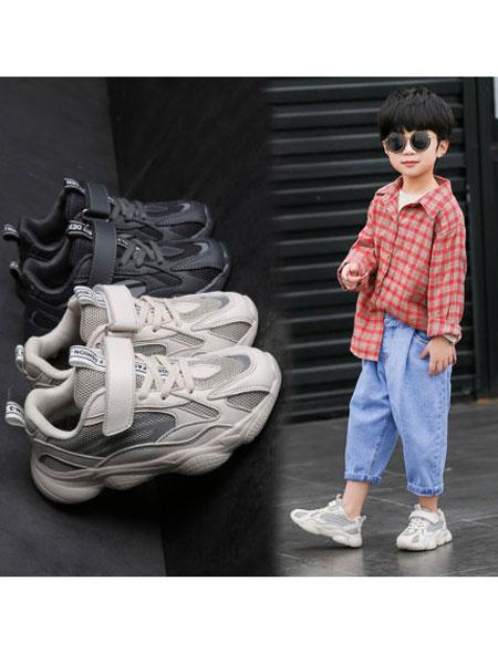 coga酷嘎童鞋品牌2020春秋网面透气