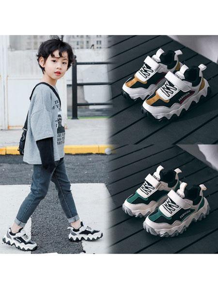 coga酷嘎童鞋品牌2020春夏防滑时尚