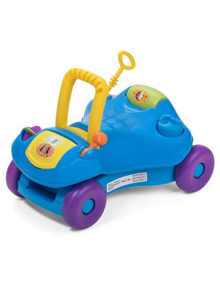 哈哈鸭婴童用品2020春夏可折叠多功能可变玩具车儿童学步车
