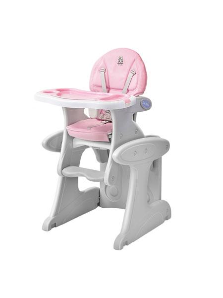 哈哈鸭婴童用品2020春夏儿童多功能餐椅塑料餐椅组合式餐椅