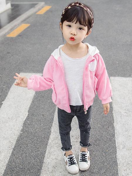 新恒梦想童装品牌2020春夏女童洋气秋装婴幼儿灯芯绒秋季儿童小夹克