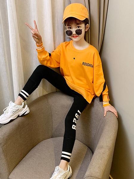 豆巴士童装品牌2020春夏长袖纯棉卫衣