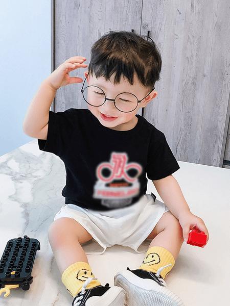 宝贝真乖童装品牌2020春夏儿童运动休闲装中小童短袖两件套潮童装新品