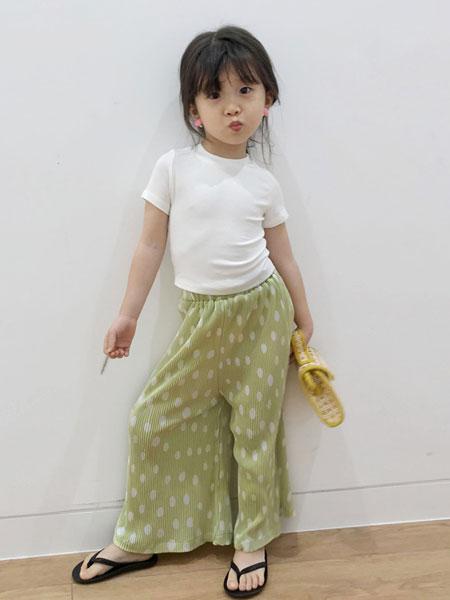 衣漫森林童装品牌2020春夏潮牌夏季新款紧身弹力棉儿童短袖T恤