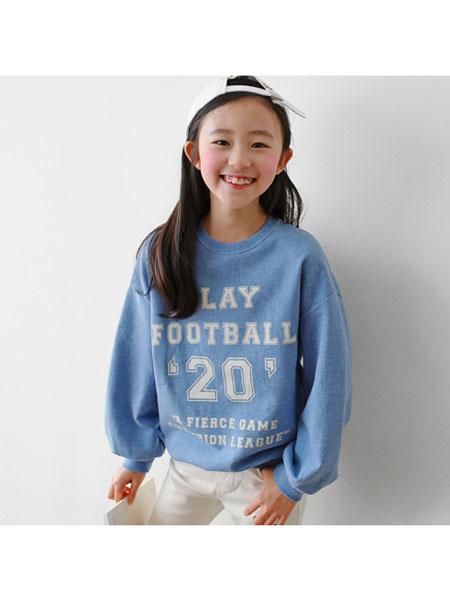 J KIDS童装品牌2020春夏印花纯棉卫衣