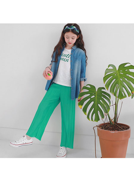 J KIDS童装品牌2020春夏休闲牛仔夹克衫