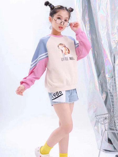 宾果童话童装品牌2020春夏创意图案卫衣
