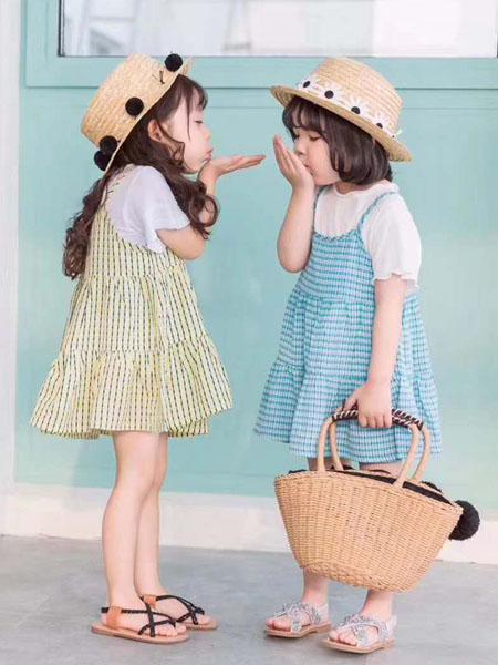 宾果童话童装品牌2020春夏背带裙小童