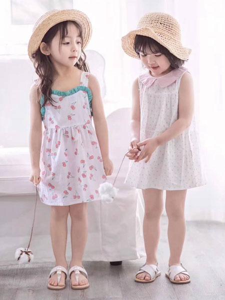 宾果童话童装品牌2020春夏吊带连衣裙