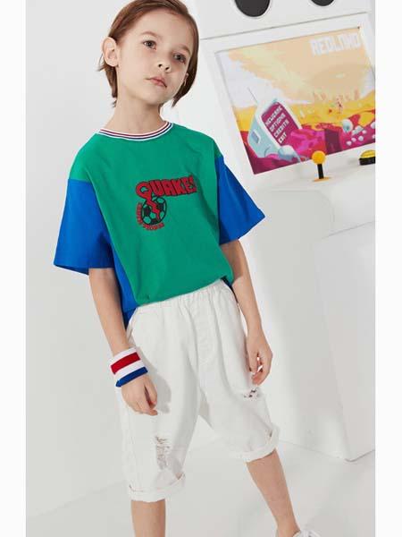 马布童装品牌2020春夏T恤