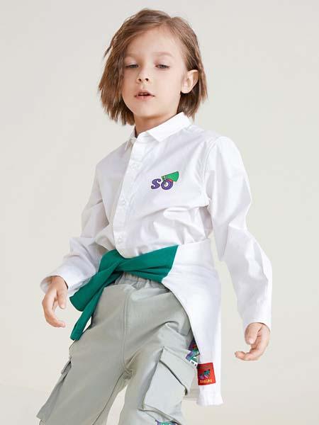 马布童装品牌2020春夏衬衫