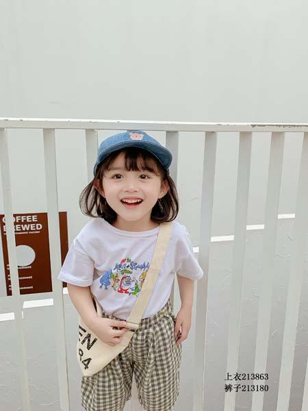 七秒易购童装品牌2020春夏T恤