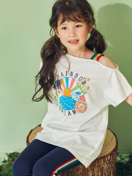 EP kids雅莹童装童装品牌2020春夏露肩T恤