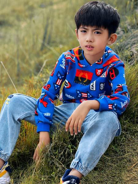 红蜻蜓KIDS童装品牌2020春夏卫衣连帽