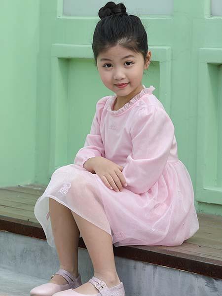 红蜻蜓KIDS童装品牌2020春夏连衣裙