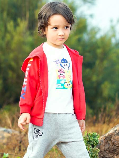 红蜻蜓KIDS童装品牌2020春夏红色外套