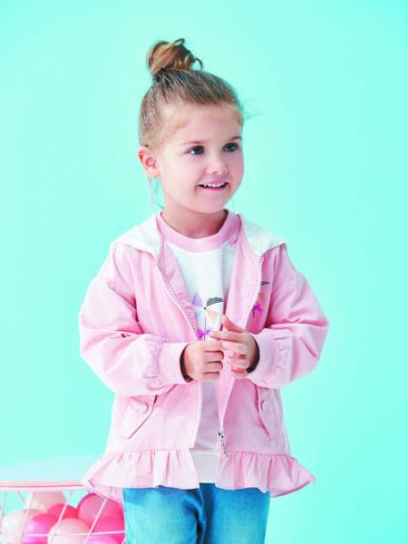 JOJOBO啾比乐童装品牌2020春夏粉色外套