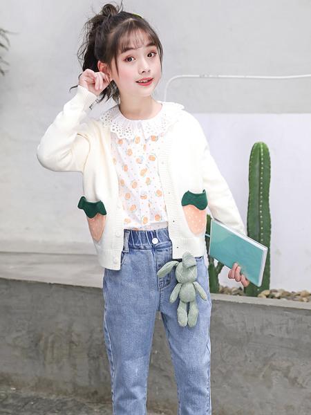 123童装童装品牌2020春夏针织衫外套