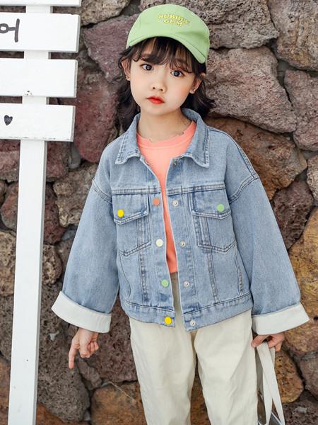 123童装童装品牌2020春夏牛仔外套