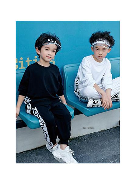 DIZAI童装品牌2020春夏纯棉运动套装