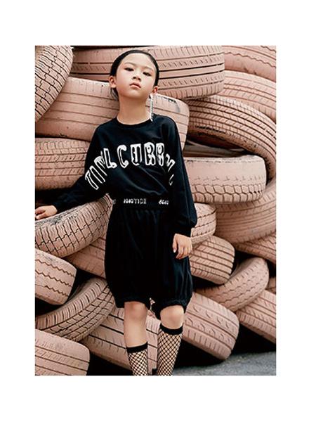 DIZAI童装品牌2020春夏印花运动套装