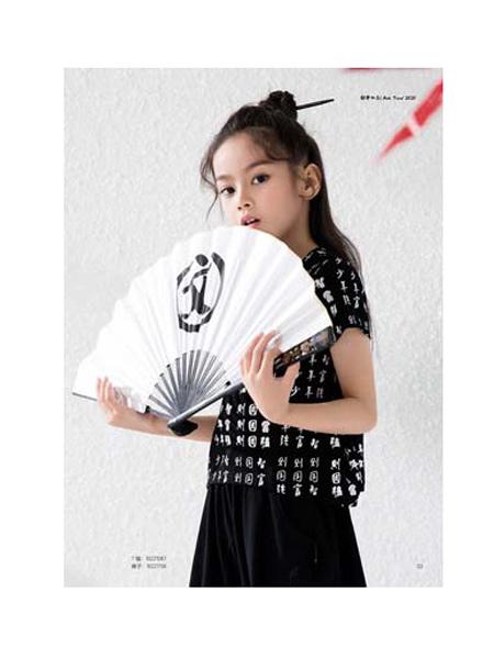 DIZAI童装品牌2020春夏时尚个性短袖