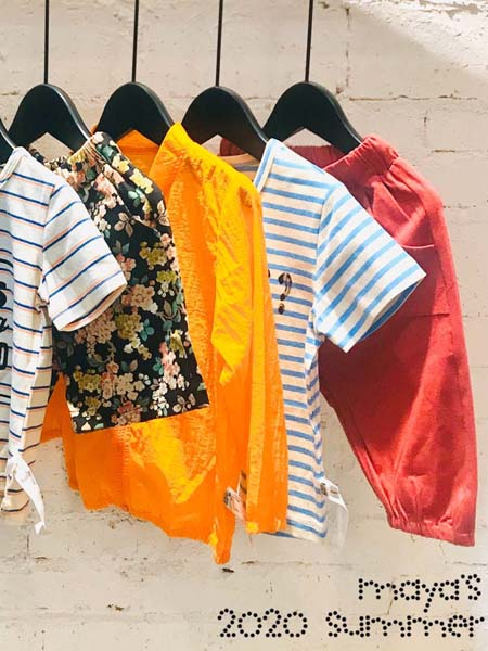 mayas童装品牌2020春夏条纹体恤