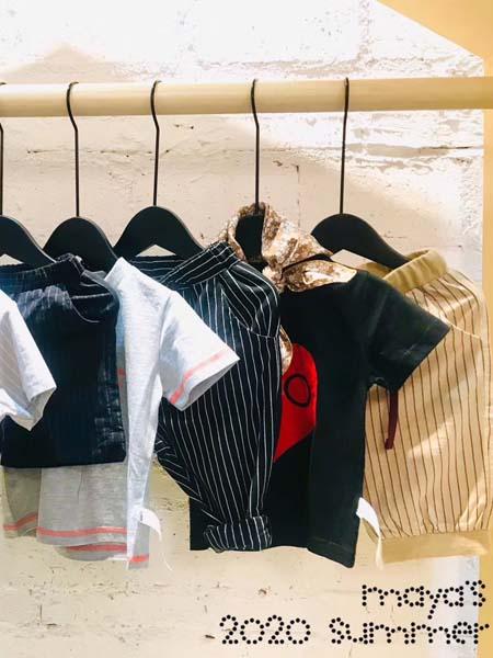 mayas童装品牌2020春夏条纹短裤