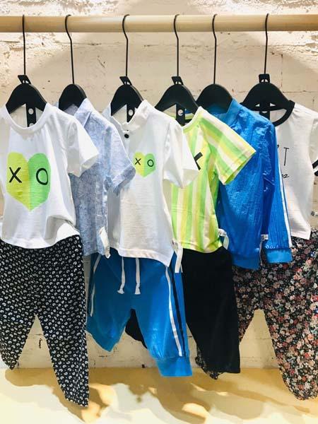 mayas童装品牌2020春夏T恤短裤
