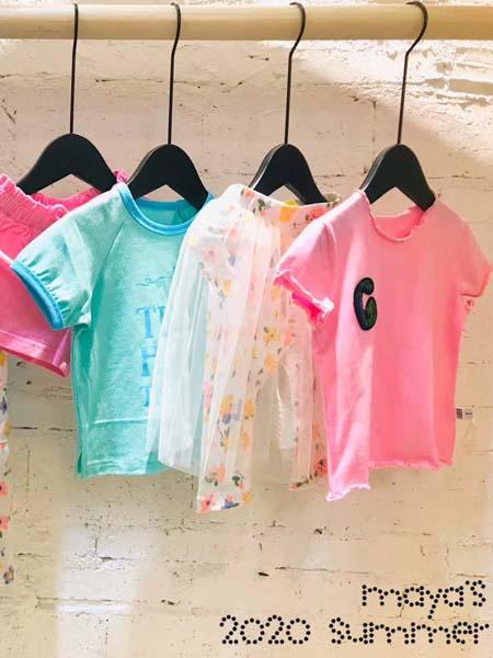 mayas童裝品牌2020春夏T恤防曬衣