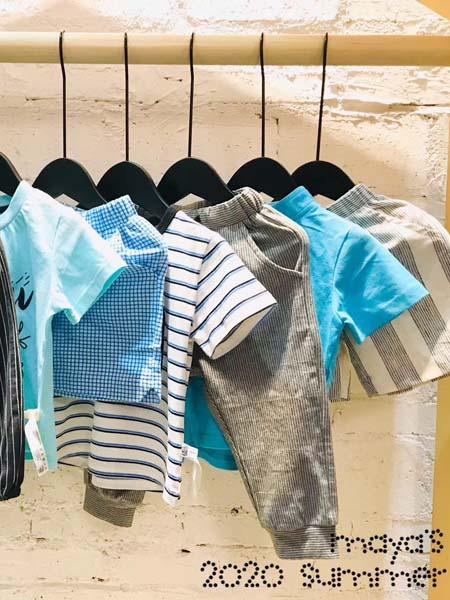 mayas童裝品牌2020春夏T恤短褲男童