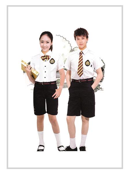 邑牌童装品牌2020春夏制服套装校服