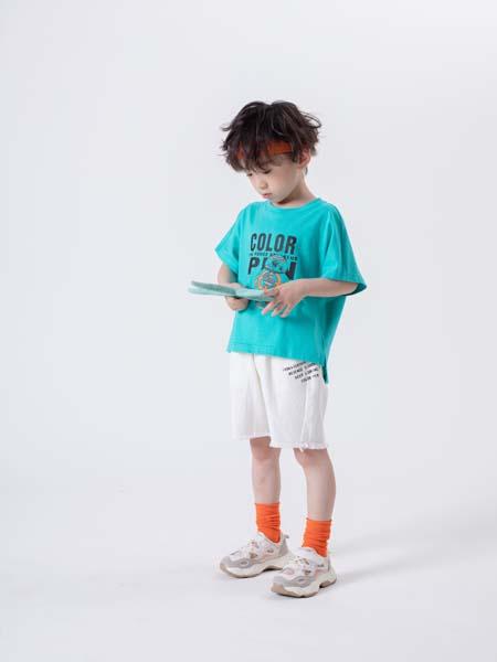 彩色笔童装品牌2020招商扶持政策,免收管理费