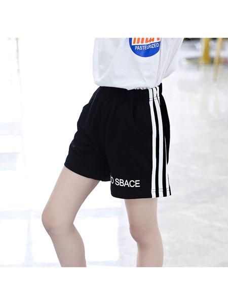 魔豆小熊童装品牌2020春夏女童短裤外穿新款韩版儿童中大童薄款百搭裤子洋气热裤潮