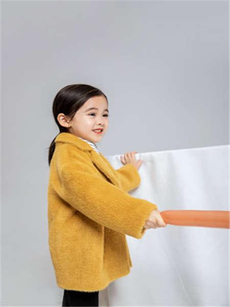 安米莉AMILRIS童装品牌2020春夏外套黄色