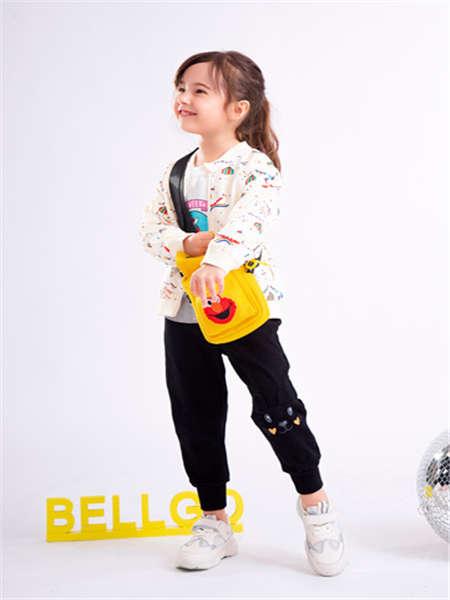 BELLGO KIDS贝力高童装品牌2020春夏T恤长袖