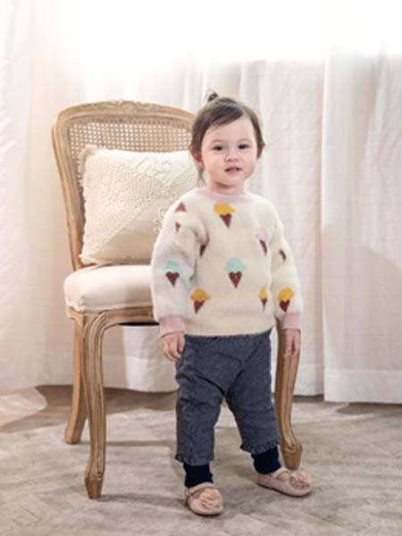 婴姿坊yingzifan童装品牌2020春夏毛衣保暖